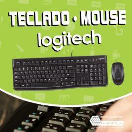 TEC+MOUSE USB MK120 LOGITECH