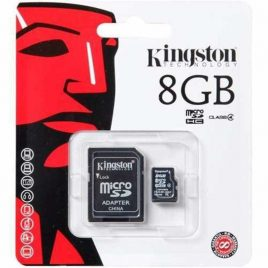 MEMORIA SDHC 8GB KINGSTON