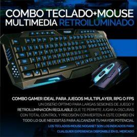 TEC+MOUSE USB NOGANET GAMER NKB-5320