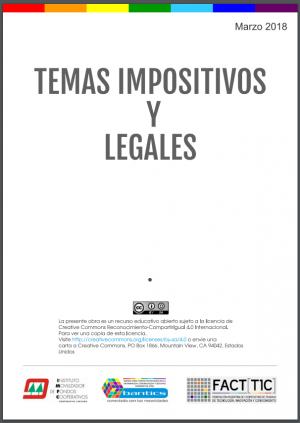 Instructivo Sobre Información Legal e Impositiva para Cooperativas