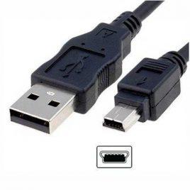 CABLE USB A  MINI USB 1M NISUTA