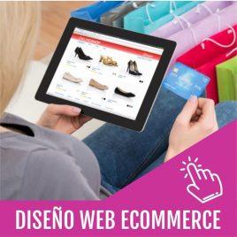DISEÑO SITIO WEB A ECOMMERCE