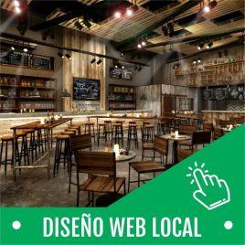DISEÑO SITIO WEB A LOCAL
