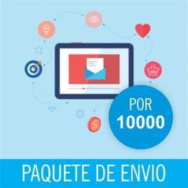 CORREOS DE ENVIOS MASIVO PACK X 10000