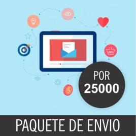 CORREOS DE ENVIOS MASIVO PACK X 25000