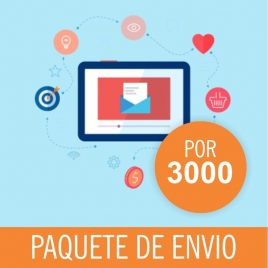 CORREOS DE ENVIOS MASIVO PACK X 3000
