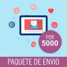 CORREOS DE ENVIOS MASIVO PACK X 5000