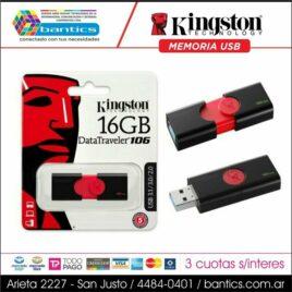 MEMORIA USB 16GB KINGSTON 106