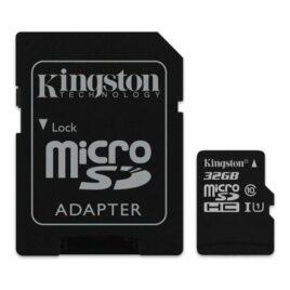 MEMORIA MICRO SD 32GB C10 KINGSTON CANVAS SELECT