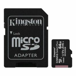 MEMORIA MICRO SD 64GB C10 KINGSTON CANVAS SELECT