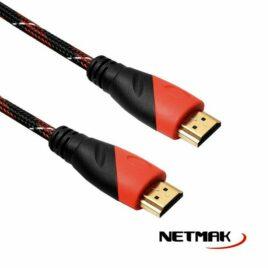 CABLE HDMI V1,4 MALLADO AZUL / ROJO NMC47R