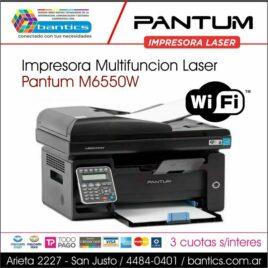 IMPRESORA LASER MONOCROMATICA PANTUM M6550NW